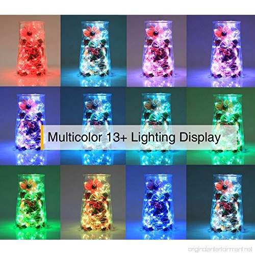 2 Pack Hometarry Led String Lights Battery Operated Lights