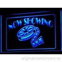 ADV PRO i650-b Now Showing Filming Film Movies Neon Light Sign - B009CF84E8