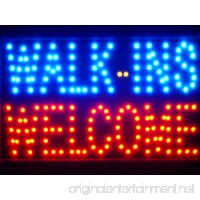 ADV PRO led020-b Walk-ins Welcome OPEN LED Neon Light Sign - B009JZ2MQ2