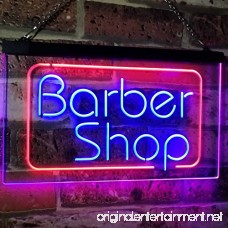 AdvpPro 2C Barber Shop Hair Cut Walk In Welcome Display Dual Color LED Neon Sign Red & Blue 12 x 8.5 st6s32-i2005-rb - B07D388DLC