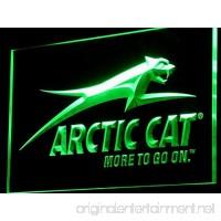 Arctic Cat Snowmobiles LED Neon Sign Man Cave D129-G - B00VILJVBY