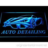 Auto Detailing Detail Car Wash LED Sign Neon Light Sign Display s233-b(c) - B00QBKIB36