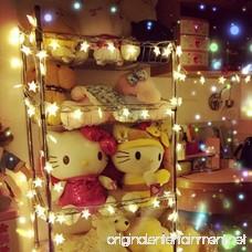 BJYHIYH Battery Powered String Lights 16ft 40 LED Star Fairy Lights for Bedroom Christmas Wedding Party Decoration(Warm White) - B07CYPJFBM