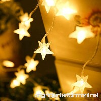BJYHIYH Battery Powered String Lights 16ft 40 LED Star Fairy Lights for Bedroom Christmas Wedding Party Decoration(Warm White) - B07CYPJFBM