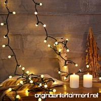 BOHON Christmas String Lights with Diamond Glass Bulbs 100% UL listed 19FT 70 LED Fairy Lights Plug In Outdoor/Indoor String Lights for Patio Wedding Party Decor Warm White - B06Y66X6P7