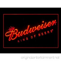 Budweiser King Of Beers Bar Pub Led Light Sign - B01786TUNG