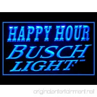 Busch Light Beer Happy Hour Drink Led Light Sign - B017WE5GCI