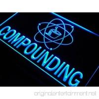 Compounding Pharmacy Shop LED Sign Neon Light Sign Display j720-b(c) - B00QBL2NI4