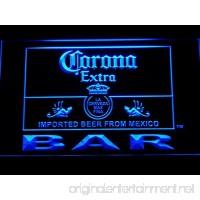 Corona Bar Beer Extra LED Neon Light Sign Man Cave 418-B - B00VIFQ5W8
