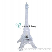 "Craft and party 9"" Eiffel Tower With build in LED Light. - B01EO1ATY2"