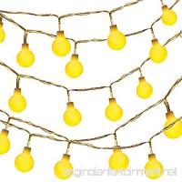 Dailyart Globe string lights LED Starry Light Fairy Light for Wedding Xmas Party (Warm White  Battery-powered  13feet/4meters) - B077X83XSZ