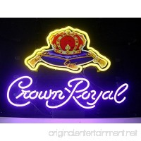 Desung Brand New 17x13 Crown Royal Neon Sign (Various sizes) Beer Bar Pub Man Cave Business Glass Neon Lamp Light DB184 - B07B9GPNFK