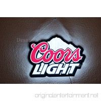 Desung.us Revolutionary Coors_Light LED Neon Light Sign Beer Bar Pub Sports Mancave 3rd Generation Sign 17'' LEA02M - B01IPNVLNS