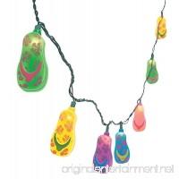 Fun Express Plastic Flip Flop Party String Lights Beach Luau - 1 Piece - B000P16Z9O