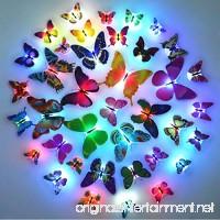 Glow in the Dark LED Butterfly Decorations 15 PCS - B071YD9YVN