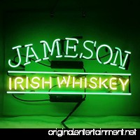 Jameson Irish Whiskey Beer Bar Pub Store Party Homeroom Wall Decor Neon Signs 17X14 - B07C3FP294