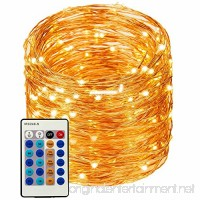 LED String Lights 99ft 300 LEDs String Lights Dimmable with Remote Control  Waterproof Lights for Bedroom  Parties  Garden  Wedding  Yard  (Copper Wire Lights  Warm White) (暖白99ft) - B0755ZQXFP