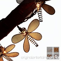 Lidore? 10 Vintage Style New Metal Dragonfly String Lights Ideal for Garden Outdoor and Indoor Decoration Summer Lighting - B00MHOBYP2