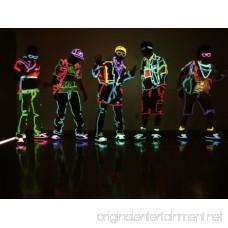 Lychee Neon Light El Wire with Battery Pack 15 Feet Blue - B00EENNHMM