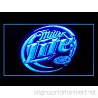 Miller Lite Drink Beer Bar Led Light Sign - B01786JDO2