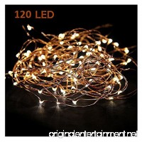 MineTom Starry String Led's Lights Warm 120 Individually Mounted Led's  20 ft  White - B00MYN4QRE