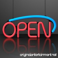 Neon Style LED Open Sign with A/C Adapter - B00MNR13IG