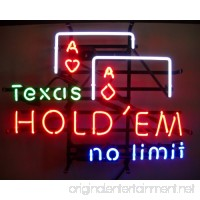 Neonetics 5TEXAS Texas Hold 'Em No Limit Neon Business Sign - B00WJWH86Q