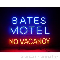 New Larger Bates Motel No Vacancy Neon Light Sign 20''x16'' H140(No More Long Waiting for WEEKS/MONTHS with Fast Shipping From CA With FREE USPS Priority Mail) - B00X0QX25G