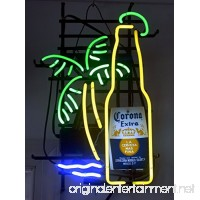 New Larger Corona Extra Bottle Palm Tree Neon Light Sign 20''x16'' H606(No More Long Waiting for WEEKS/MONTHS with Fast Shipping From CA With FREE USPS Priority Mail) - B00X0QUTWA