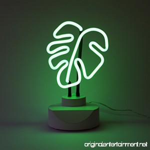 Oliver Gal |Home Tabletop Neon Sign |Original Handmade Neon Table Light. Modern Home Accent. 6x11 inch Green - B076MM5TH4