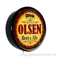 OLSEN Beer and Ale Cerveza Lighted Wall Sign - B019EIFIXW