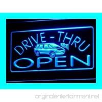 OPEN Drive Thru Car Bar Pub LED Sign Night Light i088-b(c) - B00QBKN33E