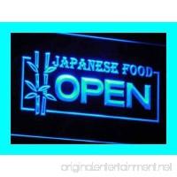 OPEN Japanese Japan Restaurant LED Sign Neon Light Sign Display i023-b(c) - B00QBKI73U