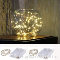 Pack of 2 sets LED SopoTek 7ft 20 LEDS Starry Lights Fairy Lights Copper LED Lights Strings AA Battery Powered Ultra Thin String Wire(Battery not included) - B01DOWWX00