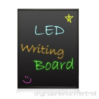 """Pyle PLWB3040 - 16""""x12"""" - Flashing Illuminated Erasable Neon LED Message Writing Board/ Menu Sign with Remote Control and 8 Fluorescent Markers - Connect and Configure Custom settings from PC - B00JZUZLJG"""