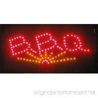 UbiGear Animated Motion LED Restaurant BBQ Club Cafe Sign +On/off Switch Open Light Neon 19*10 Inch - B008UXEZ32