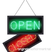 Ultra Bright LED Neon Light 2 in 1 Open Closed Sign  Business Signs Advertisement Board for Cafe Bar Pub Coffee Store Wall Window Display Sign - B07BJ2KG9C