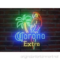 "Urby™ 17""x14"" C orona P arrot Beer Custom Handmade Glass Tube Neon Light Sign 3-Year Warranty-Unique Artwork! HL183 - B06XH46Q3S"