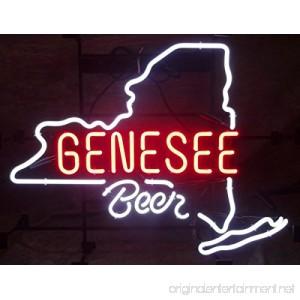 Urby™ 17x14 G ene see Beer Custom Handmade Glass Tube Neon Light Sign 3-Year Warranty-Unique Artwork! HL171 - B06XH4HXP5