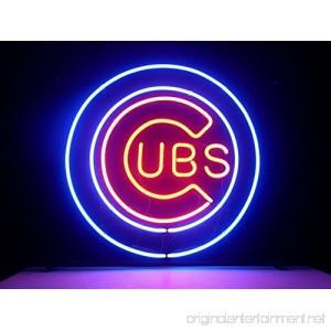 Urby™ 17x14 Sports Unions C UBS Team Logo Custom Neon Sign Beer Bar Pub Neon Light 3-Year Warranty-Excellent & Unique Handicraft! U128 - B06XPM1ZGW