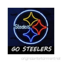 "Urby™ 20""x16"" Sports Teams PSs Go-Steelers Beer Bar Pub Neon Light Neon Sign -Excellent & Unique Handicraft! U32 - B01N79GEWU"