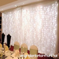 ZSTBT 300LED 9.84ft9.84ft/3m3m Window Curtain Lights for Party Wedding Home Patio Lawn Garden - B01E8KT0LW
