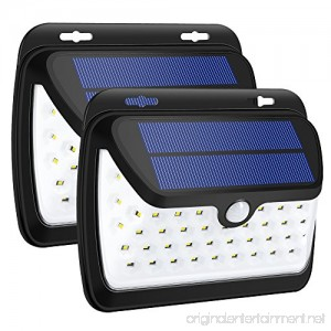 GELOO Solar Lights Outdoor Wireless 42 LED Motion Sensor Solar Lights with Wide Lighting Area Waterproof Wall Light Security Night Light for Front Door Back Yard Driveway Garage - B07CVGXJTQ
