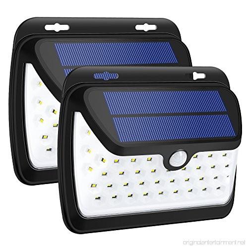 Wireless Outdoor Garage Lights: GELOO Solar Lights Outdoor Wireless 42 LED Motion Sensor