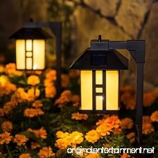 GIGALUMI Solar Powered Path Lights Solar Garden Lights Outdoor Landscape Lighting for Lawn/Patio/Yard/Pathway/Walkway/Driveway (4 Pack) - B07C1NS1Z8