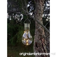 Industrial Rewind Hanging Solar Light Bulb with S Hook by (1) - B01M991QLG