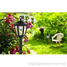 Maggift Lantern Outdoor Shepard Path Hanging Solar Lights 2 Pack - B01MCX8UZT