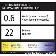 Malibu Equinox LED Low Voltage Landscape Lighting Pathway Light 22 Lumen Warm White Garden Light for Driveway Yard Lawn Pathway Garden - B071NNBTLH