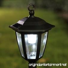 Morningrise Lantern Outdoor Shepard Path Hanging Solar Lights 2 Pack - B078NVQKTJ