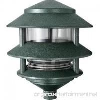 RAB Lighting 6 3Tier Pagoda Path Light A19 Lamp Verde Green - B0027OWG1I